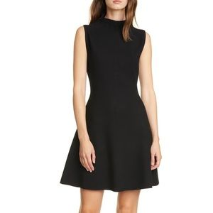 Ribbed Fit & Flare Dress